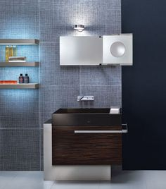 Contemporary bathrooms from Pendini - the Trendy bathroom collection
