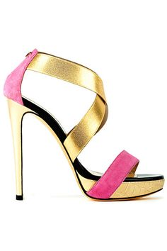 Just Cavalli....I have no place to wear these shoes but, I want them......