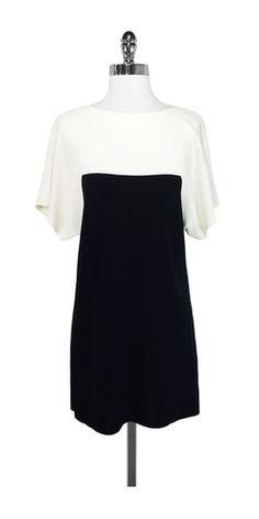 Vionnet Paris Color Block Shift Dress