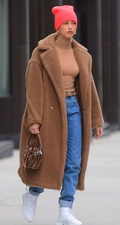 New York Winter Outfit, Winter Outfits Men, New York Street Style, Autumn Street Style, New York City, New York Outfits, Hailey Baldwin Style, Look Vintage, Mode Streetwear