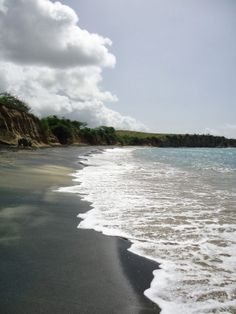 Vieques Beach Bums: Black Sand Beach? We Know How to Find It!