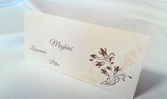 egyedi grafikus esküvői meghívó 061.1 Place Cards, Container, Place Card Holders