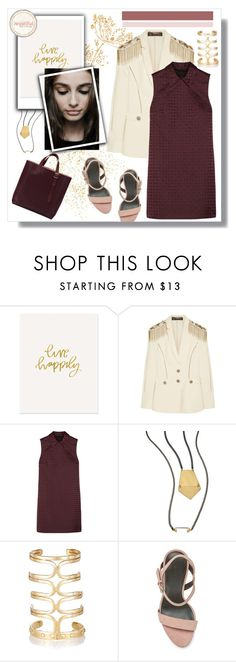 """""""If I had you."""" by vigilexi ❤ liked on Polyvore featuring The Pink Orange, Versace, Alexander Wang, One OAK by Sara, Aurélie Bidermann, Rebecca Minkoff, Aspinal of London, women's clothing, women and female"""