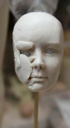 . Kunst Puppen von Claudine Roelens ................