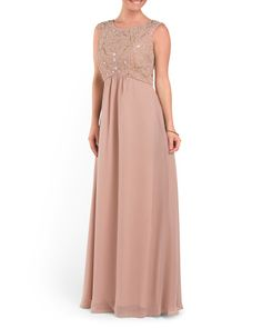 19b0741ff58 Full Dress With Beading - Formal - T.J.Maxx