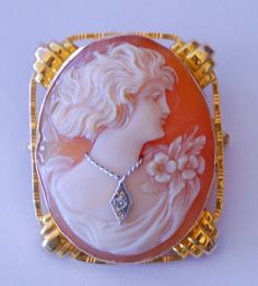 Silver Quill Antiques and Gifts - Antique and Vintage Cameo Brooches