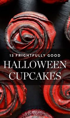 Here are 13 creative cupcakes to whip up this Halloween. #halloween #cupcakeideas