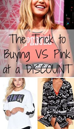 Shop the biggest sale of the year! Buy VS Pink and other top brands at up to 70-80% off retail prices! Click image to install the free Poshmark app now. As featured in Good Morning America, The New York Times, and Cosmopolitan.