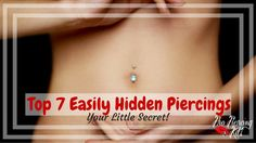 Want a piercing but work or school is stopping you? All is not lost, there are a bunch of really cool and easily hidden piercings you can get done. Here is a list, to inspire you! Helix Piercings, Piercing Kit, Cute Piercings, Peircings, Kylie Jenner Piercings, Belly Button Piercing, Belly Button Rings, Piercings Industrial, Hide Belly