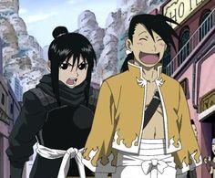Ling Yao and Lan Fan by dawnzzzkie.deviantart.com on @deviantART