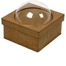 Box with bubble, 10x10 cm, 1 pc