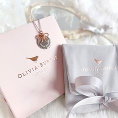 What I Got For Christmas 2016 | Olivia Burton Bow Necklace