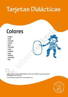 Bildkarten Spanisch: colores