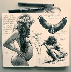 This ink drwaing from my Moleskine Sketchbook appears in my Calendar 2018 as the month of June.. Check ou my Kickstarter project and support my art:-). Thank you. Link in my Bio above ore copy past: . https://www.kickstarter.com/projects/pierangeloboog/calendar-2018-pierangelo-boog-limited-and-signed-e . . #Nukuhiva #ink #inkart #tattooink #inktattoo #inksketch #moleskine #moleskinesketch #sketch #sketchbook #instaart #instagramart #pierangeloboog #vahine #pinupart #tikiart