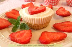 Mini cheesecake light alle fragole, ricetta passo passo