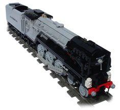 British Locomotive 'Tornado' by Andrew Harvey using Big Ben Bricks train wheels