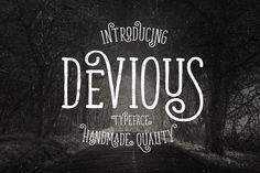 Devious Typeface Font Download
