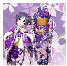 LOVE LIVE! Tojo Nozomi New Year Uniforms Cosplay Kimono Free Shipping -in Costumes & Accessories from Novelty & Special Use on Aliexpress.com | Alibaba Group