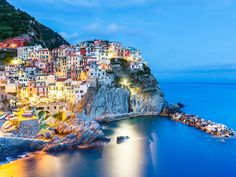 Manarola is one of the oldest towns in the Cinque Terre, and arguably one of the most beautiful. It's known primarily for its fishing, wine-making, and excellent hiking in the hills and vineyards above the town. Don't miss the famous walking trail called Via dell'Amore, or Love's Trail.