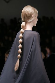 Valentino fall 2014 bubble pony