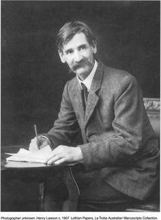 Henry Lawson 17 June 1867 – 2 September 1922 He was born in a town on the Grenfell goldfields of New South Wales. Coral Castle, Aussie Australia, Aboriginal History, Writers And Poets, Photographs Of People, Modern History, Historical Photos, Music Artists, Famous People