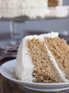 Chai Spice Cake with Vanilla Bean Buttercream (Vegan)   Veggie and the Beast