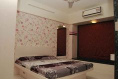 Kids Bedroom with wallpaper design by Nupur Jain, Interior Designer in Mumbai, Maharashtra, India