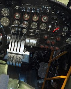 Avro Lancaster Cockpit by Piotr Forkasiewicz Lancaster Bomber, Aircraft Interiors, Ww2 Aircraft, Model Airplanes, World War Ii, Wwii, Aviation, Germany, Journal
