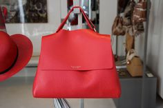 #svevabag #Orciani #red #bag #LeABoutique #Milano
