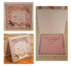 """Scrapbooking a shadow box frame card. The numbers 74 is embossed with brown Reprint embossing powder. Used alphabet dies cuttlbebug """" Olivia """" and Die versions """" My micro """".  Cardstock is Bazzill and inkido  ( I think). Made by Kirsi Arvidsson"""