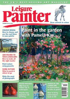 How to Paint a Peacock in Watercolour with Alison Fennell Selling Art, Magazine Art, Miniature Crafts, Animal Drawings, Color Mixing, Art Activities, Summer 2016, New Books, Landscape