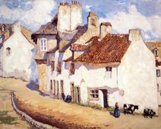 Image result for paintings of breton houses