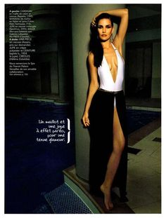 "Marie Claire - France - Azzaro swimsuit ""Naha"" from the SS13 collection #azzaro"