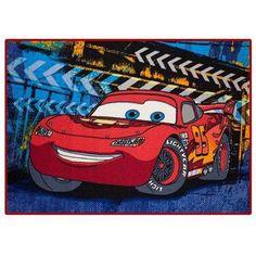 Disney Cars Nylon Room Rug, inch x inch, Multicolor Disney Cars Games, Kids Area Rugs, Pixar Characters, Car Bed, Lightning Mcqueen, Rug Material, Room Rugs, Latex