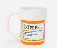 Prescription for Coffee Mugs