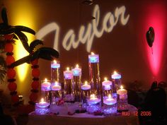 Name in lights… either Malaya's name or Tiana's Place