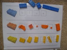 Lego color match Learning Fun with Lego Activities + Lego block sandwich! mamato3blessings....