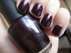 OPI Lincoln Park At Midnight!I love this color...I wear it in the winter!!