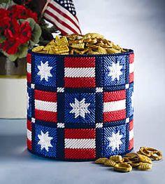 Americana can ~ free pattern