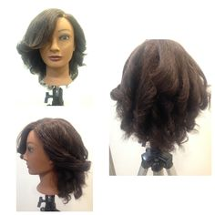 Vertical curl Set and Style