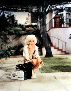 Marilyn's final (unfinished) film 'Something's Got to Give' - 1962