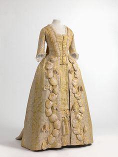Robe a la francaise, 1770-80