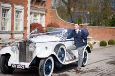 Great Gatsby Car for a Gatsby Wedding #gatsby