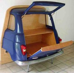 Também pode ser usado para produzir armários, tanto na parte interna da casa, como na garagem. (Foto: Reprodução Rosely Pignataro)
