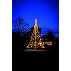 Fairybell vlaggenmastkerstboom 600 cm. met 960 LED-lampjes | tuin-online.nl