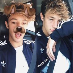 "::Cameron Dallas::""Hey I'm Cameron, but most people just call me cam""I smirk""I'm a fire breather, I know, it's very dangerous but I live for danger""I grin""I'm very adventurous and I'm not afraid of alittle danger. I,merry outgoing and very flirty""I smirk""anyway that's it about me, come say hi?"""
