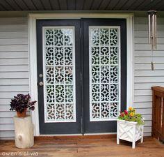 Custom PVC Window Cover   Exterior. Pvc WindowsCustom WindowsFrench Door  CoveringsWindow ...