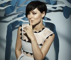 I love Emma Willis' hair 2015 Hairstyles, Pixie Hairstyles, Pixie Haircut, Bob Haircuts, Pixie Styles, Short Hair Styles, Emma Willis Hair, New Hair Do, Celebrity Big Brother