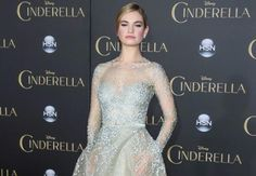 Lily James is elegance personified at the Cinderella Premiere...