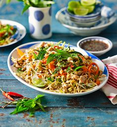 Vietnamese chicken salad: With layers of textures and flavours, this vibrant salad is the definition of effortlessly easy and tasty dining!